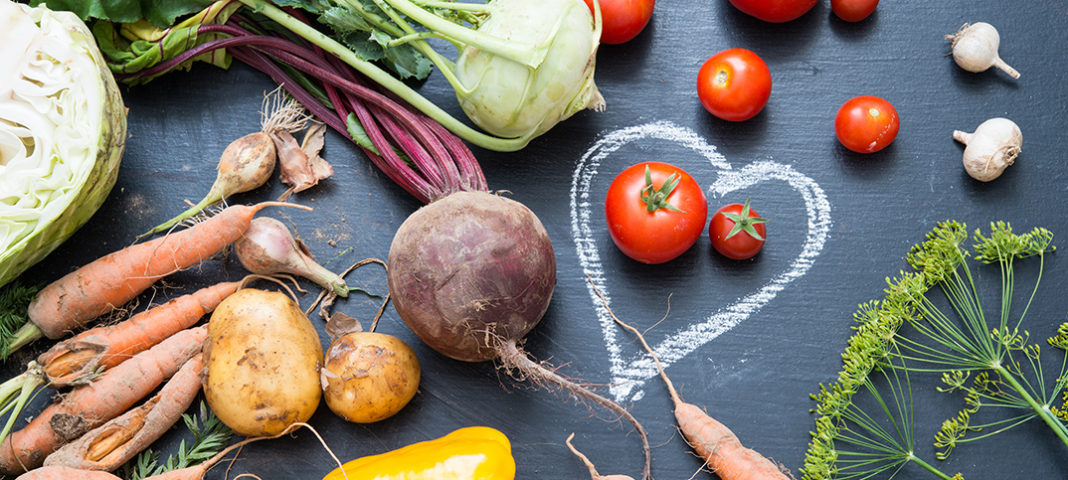 Beneficios de una dieta vegetariana