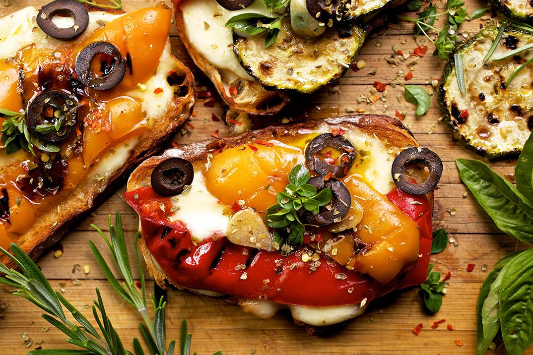 Cocina vegetariana molona