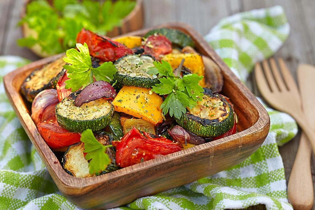 Verduras al horno - Vegetariano